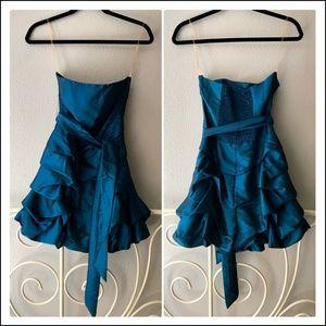 Romeo & Juliet Couture Taffeta Party Dress